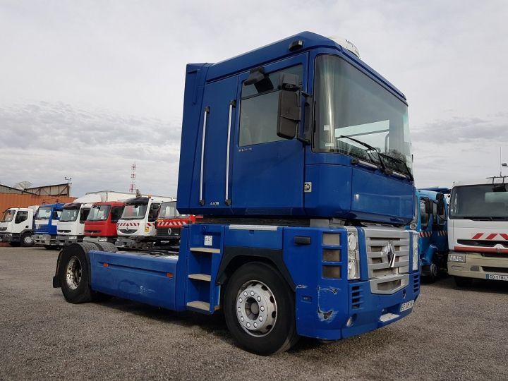 Camion tracteur Renault Magnum 440dxi MANUAL BLEU GEFCO Occasion - 3