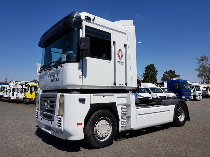 Camion tracteur Renault Magnum 480dxi - ZF16 + INTARDER BLANC Occasion - 1