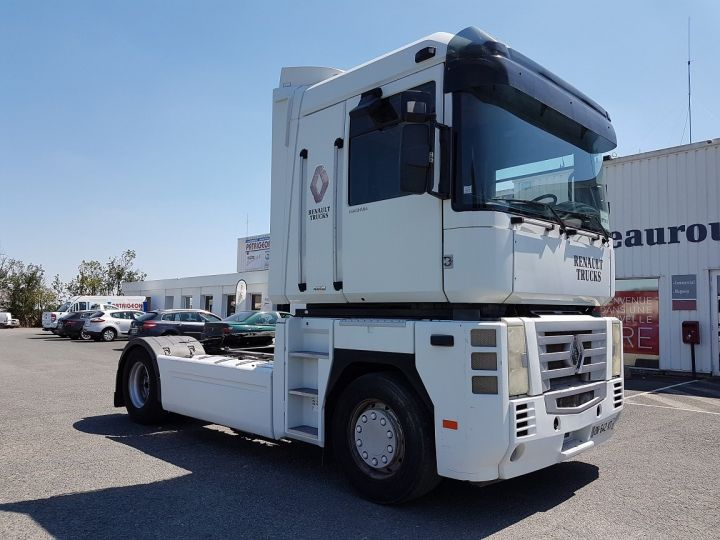 Camion tracteur Renault Magnum 480dxi - ZF16 + INTARDER BLANC Occasion - 3