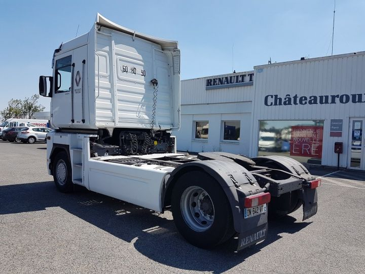 Camion tracteur Renault Magnum 480dxi - ZF16 + INTARDER BLANC Occasion - 4