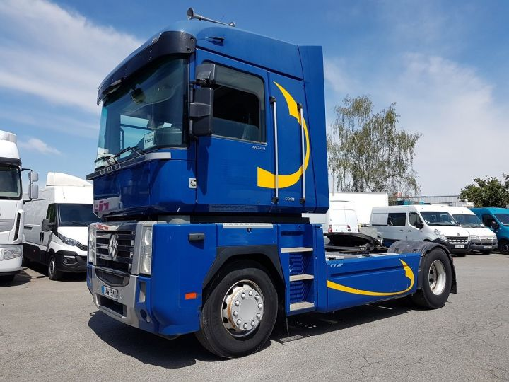 Camion tracteur Renault Magnum 500dxi PRIVILEGE BLEU GEFCO - 1