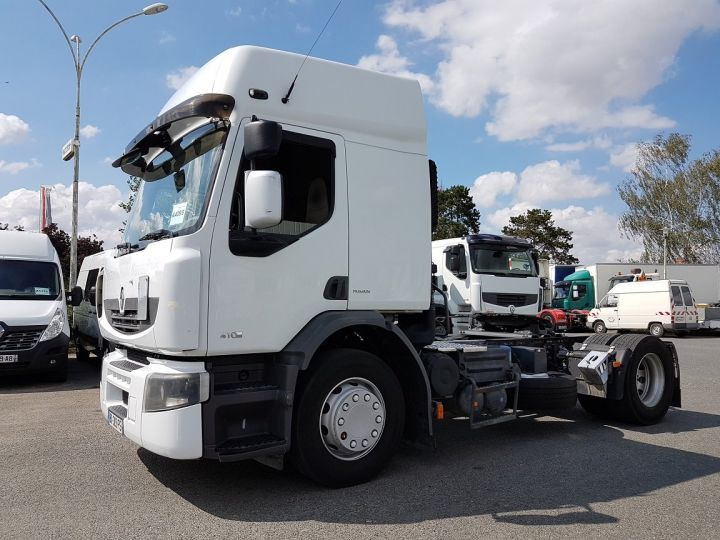Camion tracteur Renault Premium 410dxi MANUAL BLANC - 1