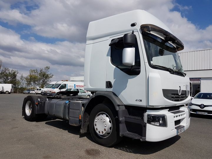 Camion tracteur Renault Premium 410dxi MANUAL BLANC Occasion - 3