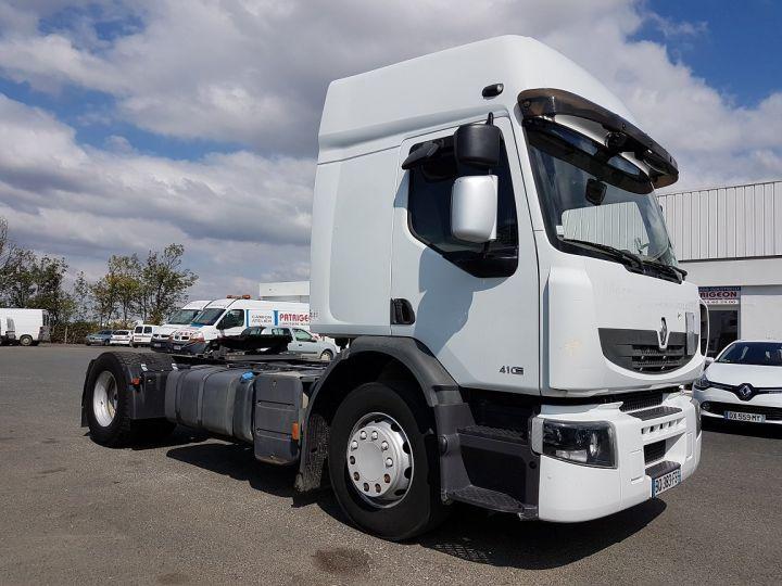 Camion tracteur Renault Premium 410dxi MANUAL BLANC - 3