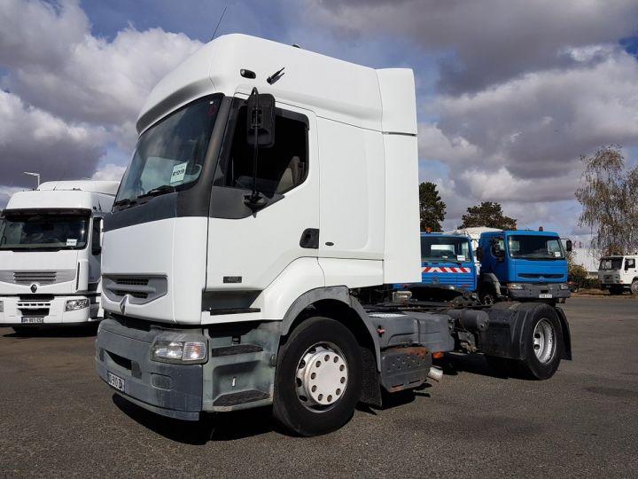 Camion tracteur Renault Premium 420dci PRIVILEGE BLANC Occasion - 1
