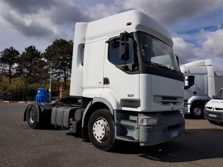 Camion tracteur Renault Premium 420dci PRIVILEGE BLANC Occasion - 3