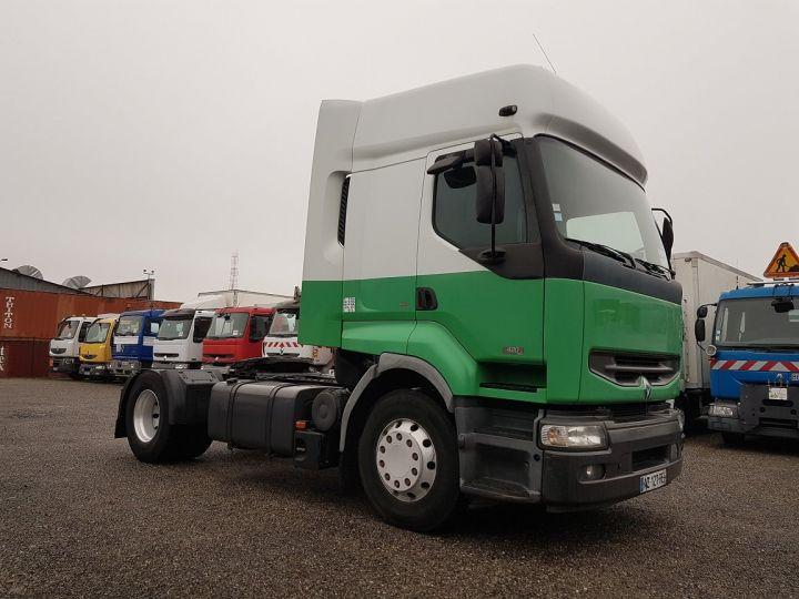 Camion tracteur Renault Premium 420dci PRIVILEGE BLANC - VERT - 3