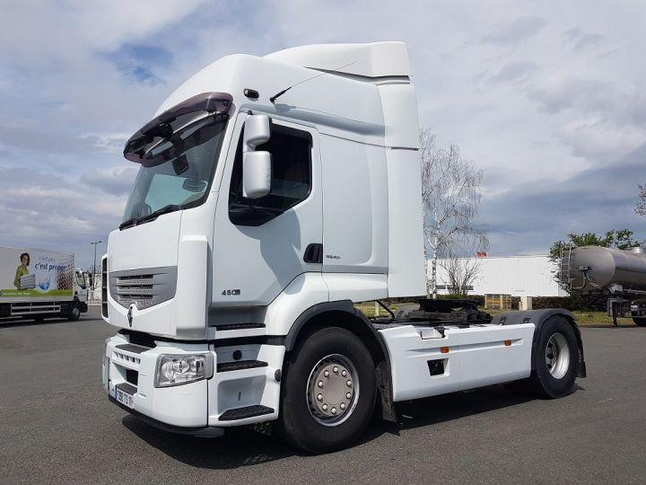 Camion tracteur Renault Premium 450dxi - Cabine 6 places BLANC Occasion - 1