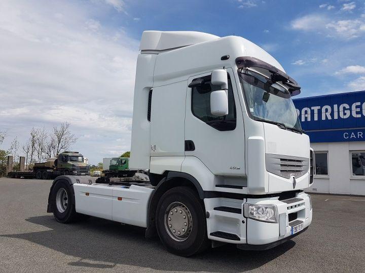 Camion tracteur Renault Premium 450dxi - Cabine 6 places BLANC Occasion - 3