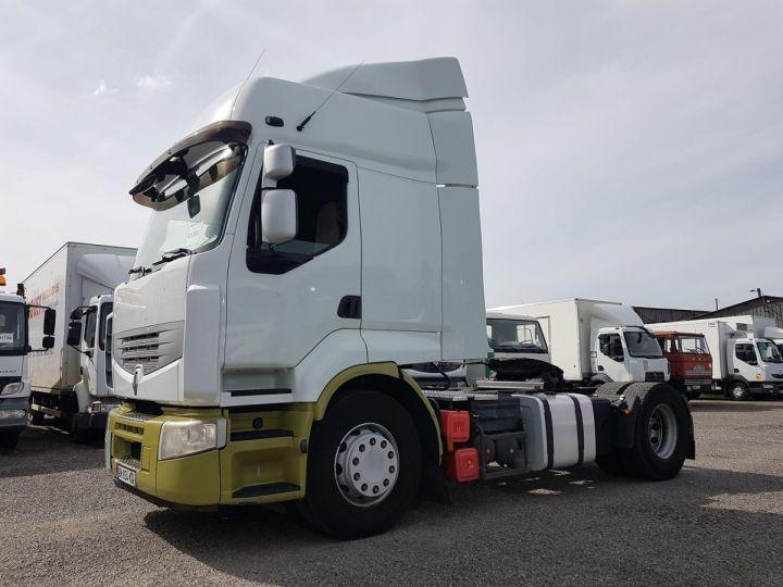 Camion tracteur Renault Premium 450dxi PRIVILEGE BLANC - VERT Occasion - 1