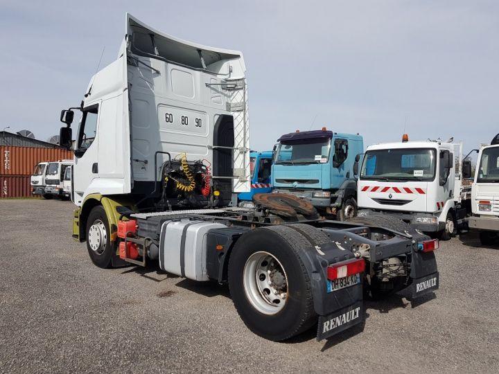 Camion tracteur Renault Premium 450dxi PRIVILEGE BLANC - VERT Occasion - 4