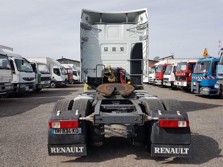 Camion tracteur Renault Premium 450dxi PRIVILEGE BLANC - VERT Occasion - 5