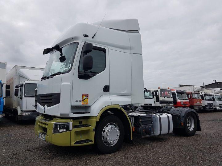 Camion tracteur Renault Premium 460dxi PRIVILEGE euro 5 BLANC - VERT Occasion - 1