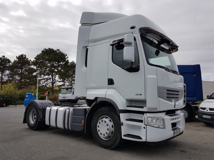 Camion tracteur Renault Premium 460dxi RETARDER BLANC Occasion - 3