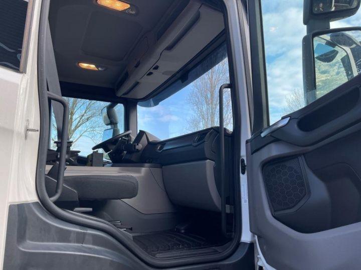 Camion tracteur Scania P 410 6x4 POLYBENNE BRAS AMPLIROLL BOITE AUTOMATIQUE BLANC - 8