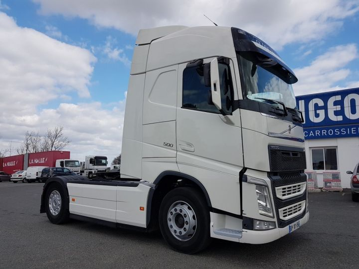 Camion tracteur Volvo FH 500 GLOBETROTTER BLANC Occasion - 3
