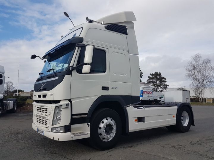 Camion tracteur Volvo FM 450 euro 6 BLANC Occasion - 1