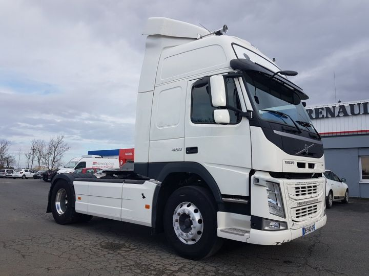 Camion tracteur Volvo FM 450 euro 6 BLANC Occasion - 3
