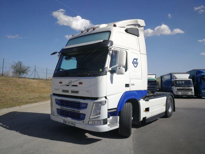 Camion tracteur Volvo FM FM 500 4X4   X TRACK  Hydraulique BLANC - 1