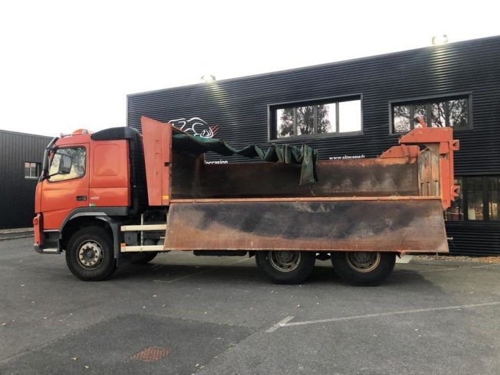 Camion tracteur Volvo FM VOLVO FM 400 N3G 6x4 BI BENNE RIDELLE HYDRAULIQUE PORTE AR HYDRAULIQUE ROUGE - 4
