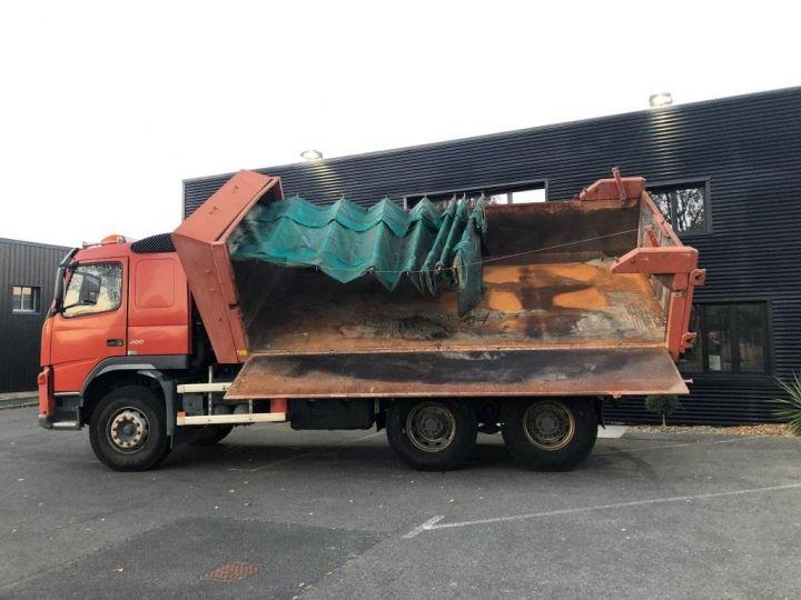 Camion tracteur Volvo FM VOLVO FM 400 N3G 6x4 BI BENNE RIDELLE HYDRAULIQUE PORTE AR HYDRAULIQUE ROUGE - 7