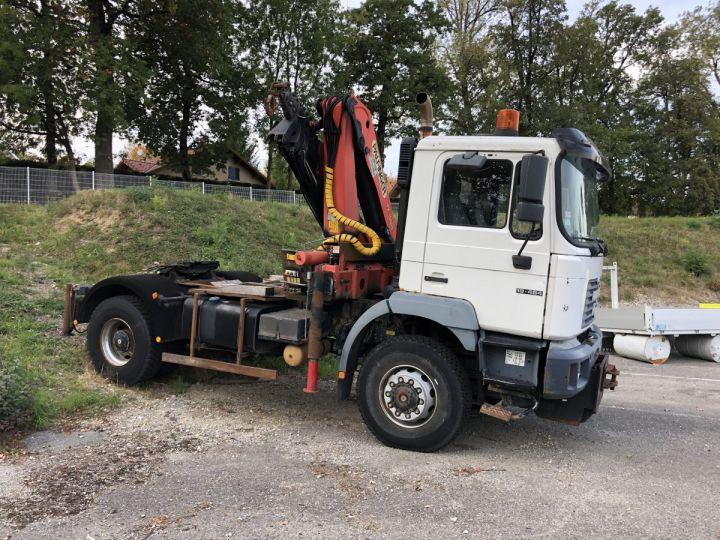 Camión tractor blanc - 5