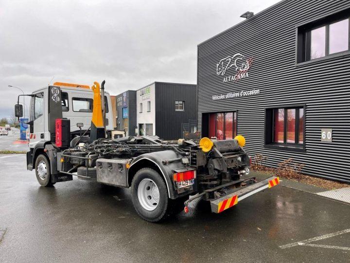 Camión tractor Iveco EuroCargo 160 E21 POLYBENNE BRAS AMPLIROLL BENNE AMOVIBLE AVEC 1 CAISSON  BLANC - 3