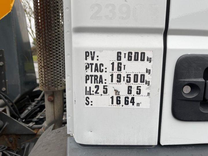 Camión tractor Iveco EuroCargo 160 E21 POLYBENNE BRAS AMPLIROLL BENNE AMOVIBLE AVEC 1 CAISSON  BLANC - 4