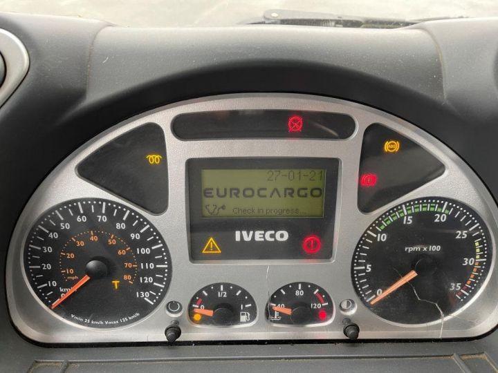 Camión tractor Iveco EuroCargo 160 E21 POLYBENNE BRAS AMPLIROLL BENNE AMOVIBLE AVEC 1 CAISSON  BLANC - 6