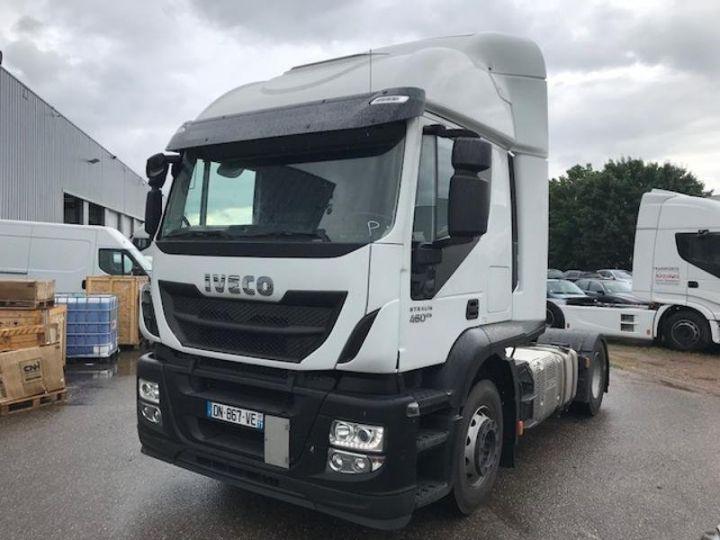 Camión tractor Iveco Stralis Hi-Road AT440S46 TP E6 - offre de location 825 Euro HT x 36 mois* Blanc - 1