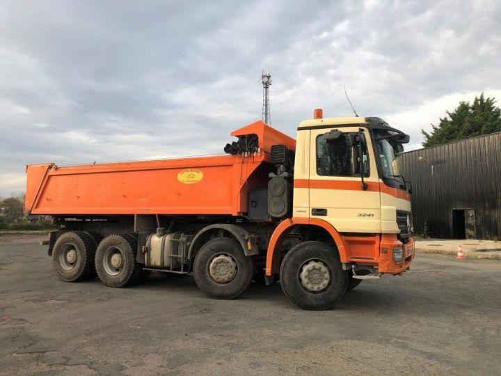 Camión tractor Mercedes Actros 3241 8x4 BI BENNE HYDRAULIQUE ROUGE - 5
