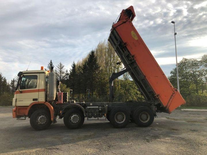Camión tractor Mercedes Actros 3241 8x4 BI BENNE HYDRAULIQUE ROUGE - 7