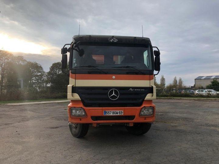 Camión tractor Mercedes Actros 3241 8x4 BI BENNE HYDRAULIQUE ROUGE - 9