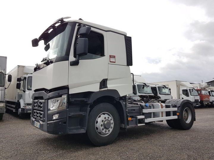 Camión tractor Renault C 440 OPTITRACK (4x2/4) - RETARDER BLANC - 1