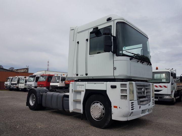 Camión tractor Renault Magnum 440dxi OPTIDRIVER BLANC - 3