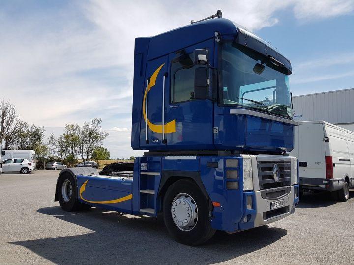 Camión tractor Renault Magnum 500dxi PRIVILEGE BLEU GEFCO - 3