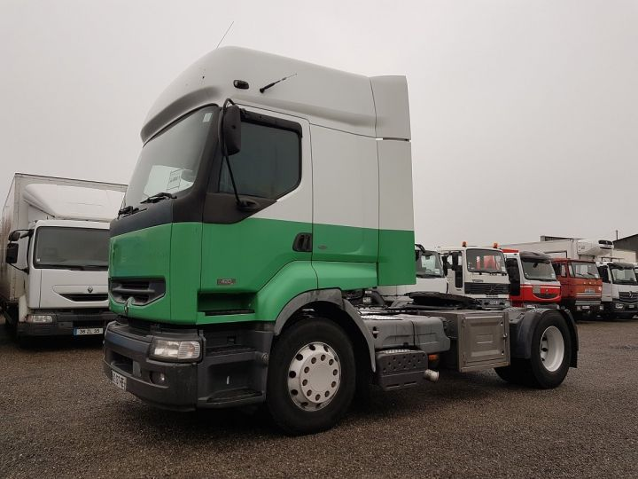 Camión tractor Renault Premium 420dci PRIVILEGE BLANC - VERT - 1