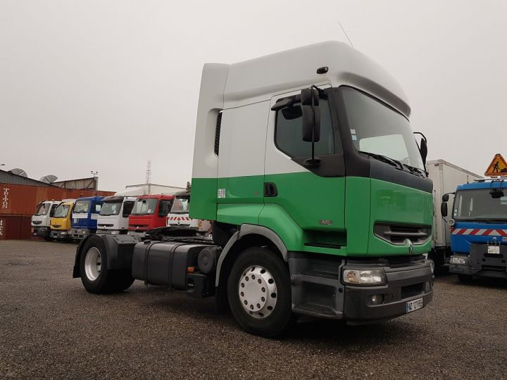 Camión tractor Renault Premium 420dci PRIVILEGE BLANC - VERT - 3