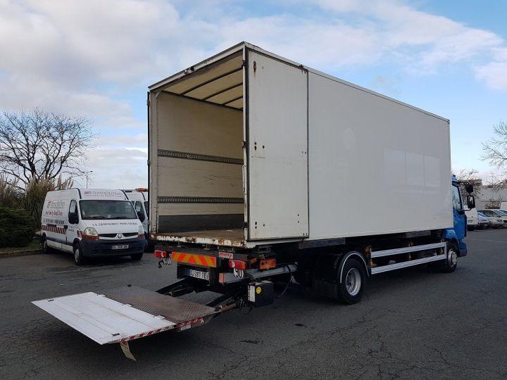 Camión Renault Midlum Transporte de contenedores 220dxi.12 CAISSE MOBILE + Hayon BLEU et BLANC - 4