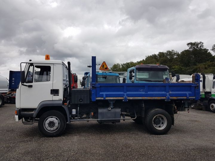 Camión Daf FA55 Volquete bilaterales y trilaterales 15.210 ATI BLANC - BLEU - 21