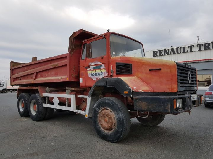 Camión Renault CBH Volquete trasero 280 6x4 BENNE MARRON - 6