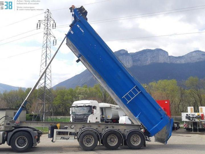 Camión Volquete trasero SEMI-REMORQUE BENNE ALU 3 ESSIEUX  - 5