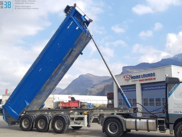 Camión Volquete trasero SEMI-REMORQUE BENNE ALU 3 ESSIEUX  - 6