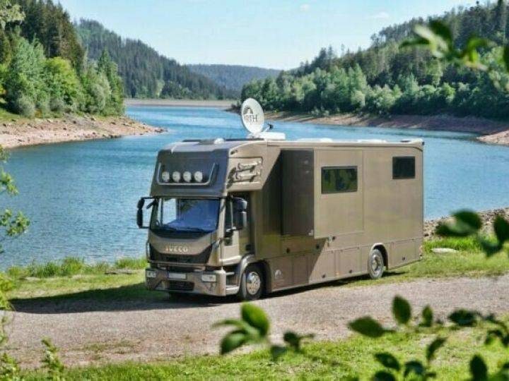 Camión Volvo EUROCARGO 160E  Brun Peinture métallisée - 1