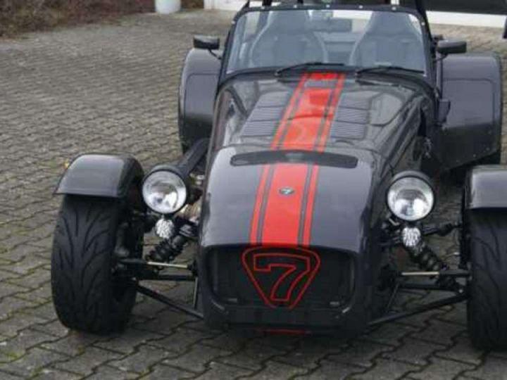 Caterham Seven 485 gris - 4