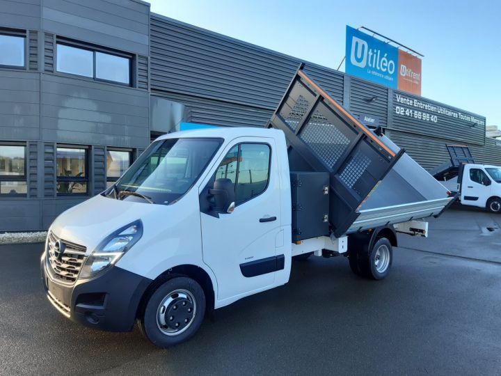 Chassis + body Opel Movano 2/3 way tipper body C3500 RJ L3H1 145CV BLANC - 1