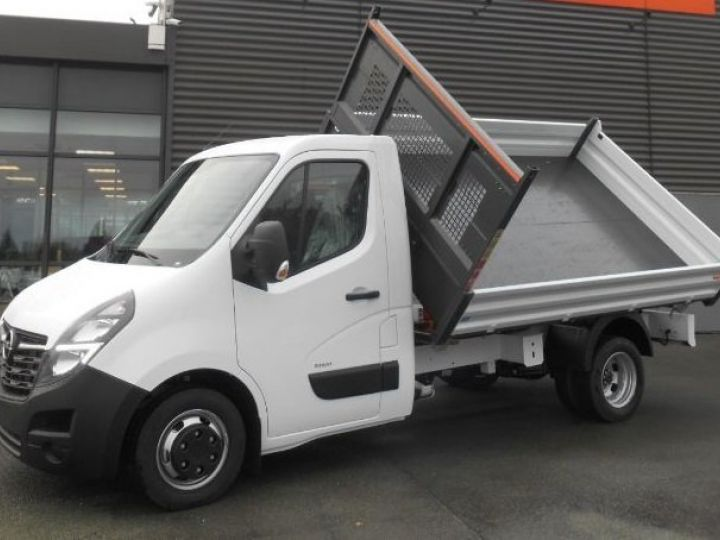 Chassis + body Opel Movano 2/3 way tipper body RJ3500 145CV BLANC - 1