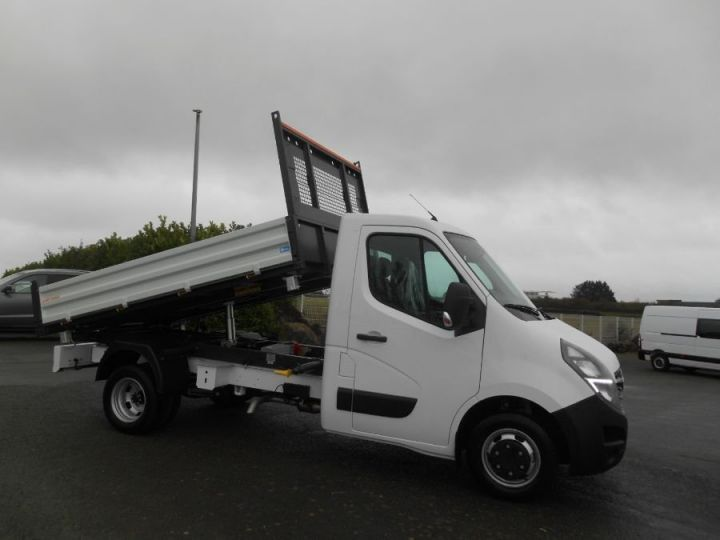 Chassis + body Opel Movano 2/3 way tipper body RJ3500 145CV BLANC - 2