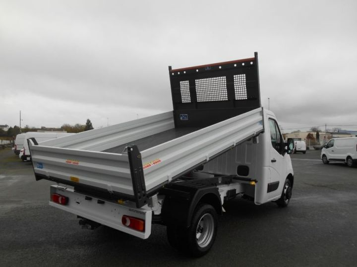Chassis + body Opel Movano 2/3 way tipper body RJ3500 145CV BLANC - 4