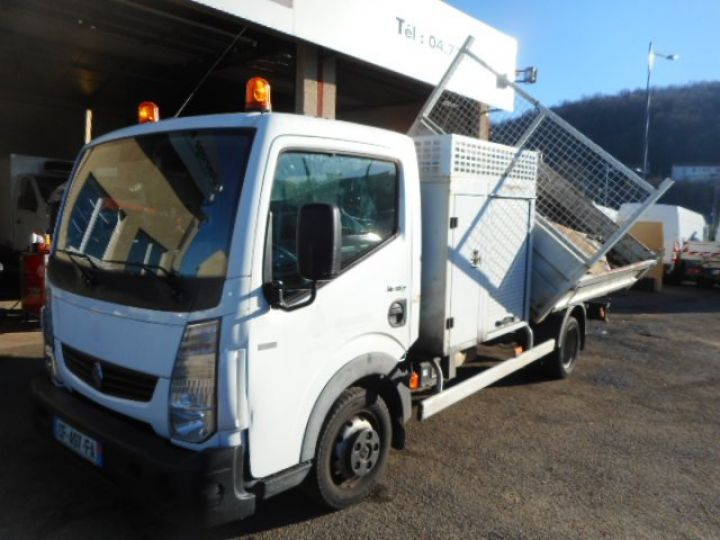 Chassis + body Renault Maxity 2/3 way tipper body 35.13 TRIBENNE + COFFRE  - 6